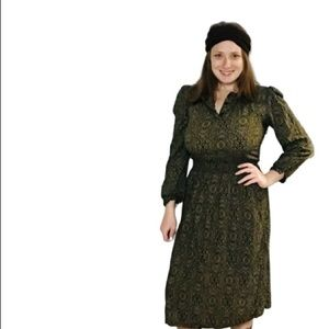 Vintage Virgo II boho festival paisley dress